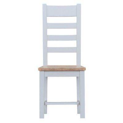 Taunton Ladder Back Dining Chair with Wooden Seat