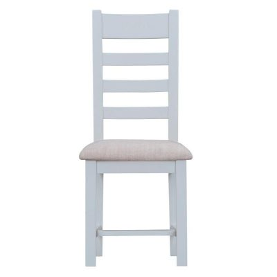 Taunton Ladder Back Dining Chair with Fabric Seat