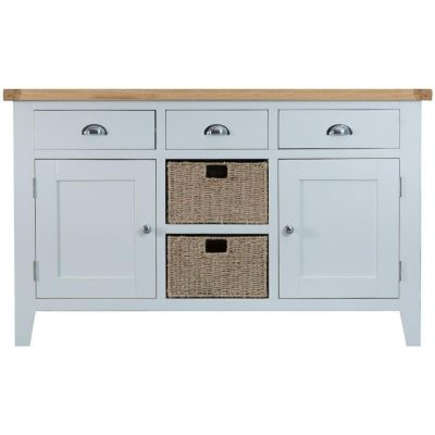 Taunton 2 Door 3 Drawer Wide Sideboard