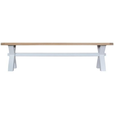 Taunton Small Cross Dining Bench