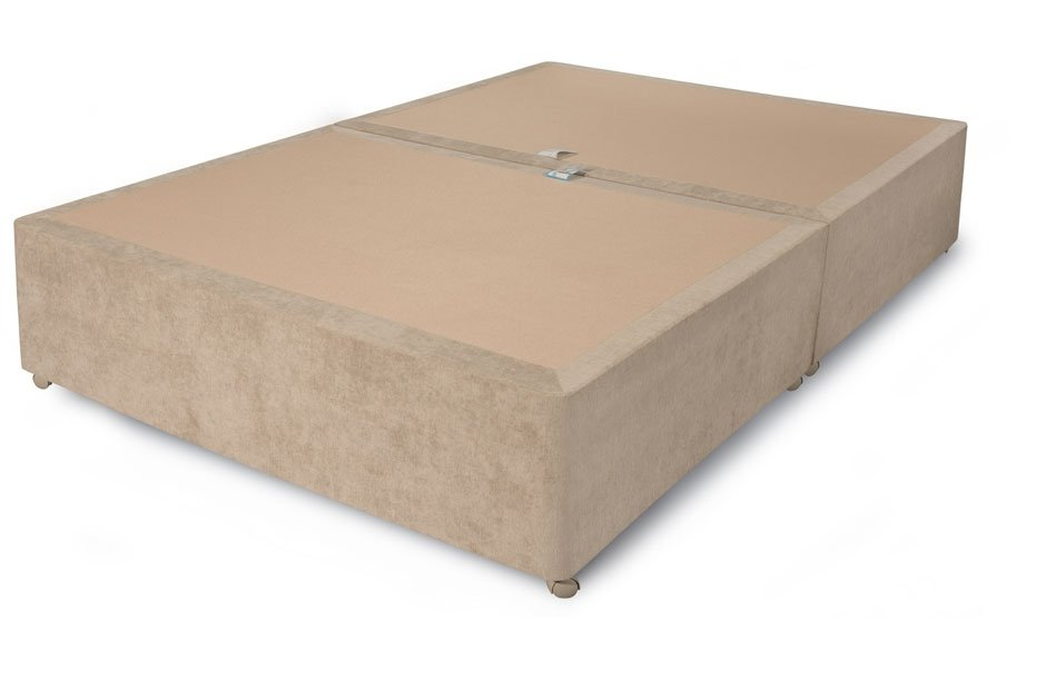 Sweetdreams - Clayton - Non Storage Divan Base on Wheels - Various Fabrics