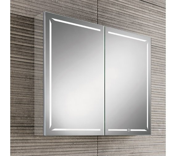 HIB Groove 60 Bluetooth Bathroom Cabinet