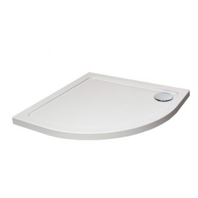 Quadrant Low Profile Shower Tray with Waste