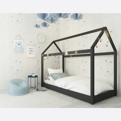 Hickory Childrens Bed in Black